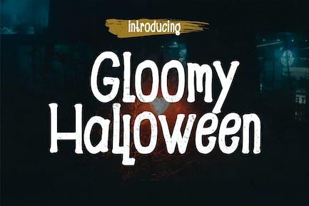 Gloomy - Halloween Font