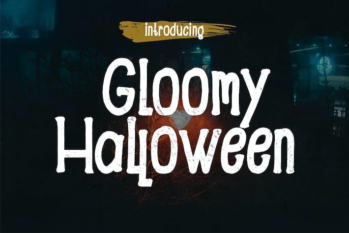 Thumbnail for Gloomy - Halloween Font
