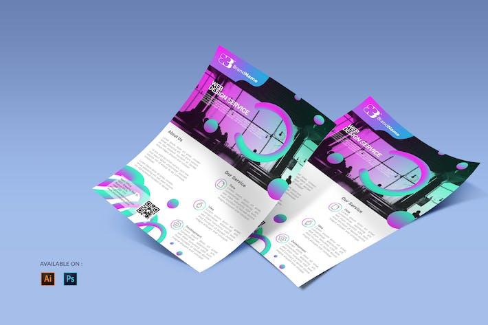 Web Course - Flyers Design