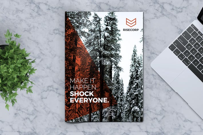 Thumbnail for Creative Brochure Template Vol. 21