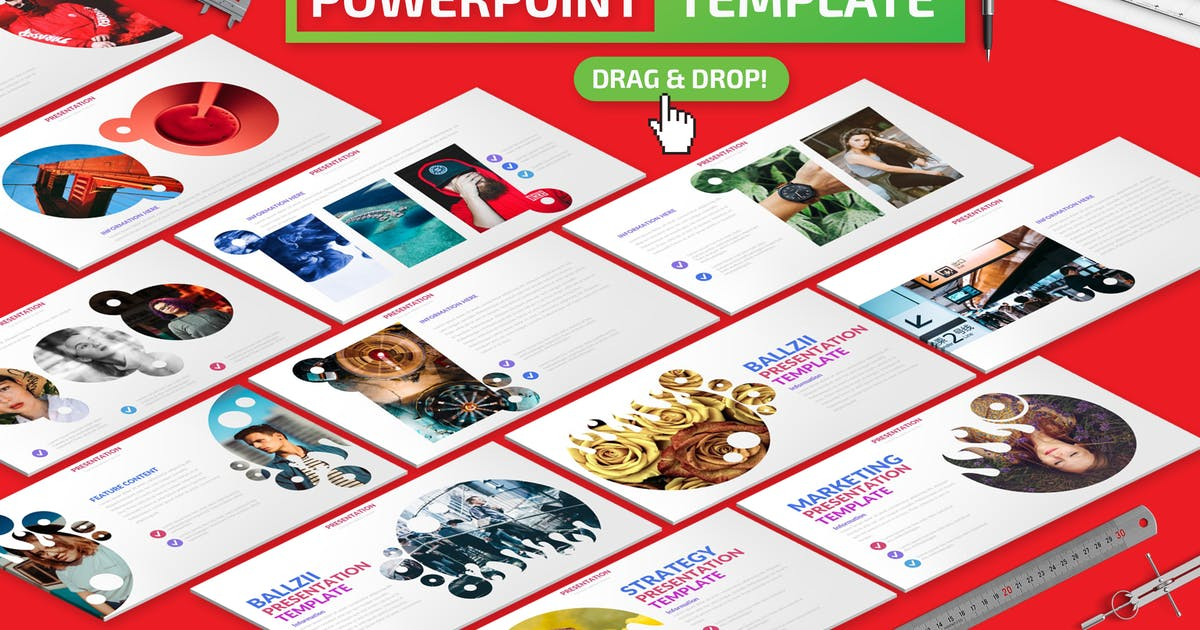 Download Ballzii Powerpoint Presentation Template by mamanamsai