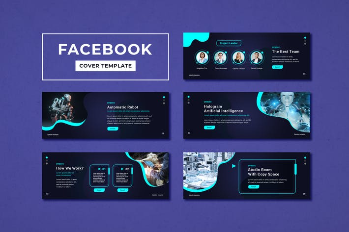 Cover Image For Facebook Cover Template Technology