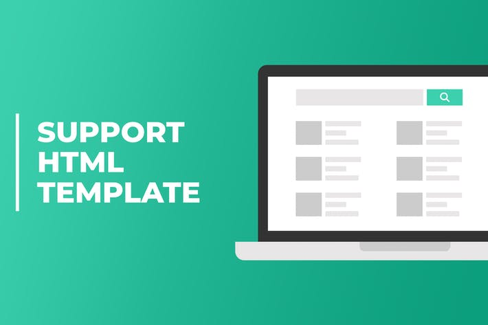 Thumbnail for Soutien | Customer Support Helpdesk HTML Template