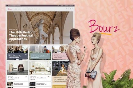 Bourz - Life & Entertainment Magazine Blog Theme