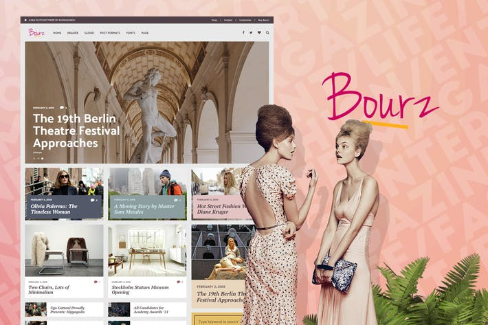 Thumbnail for Bourz - Life & Entertainment Magazine Blog Theme