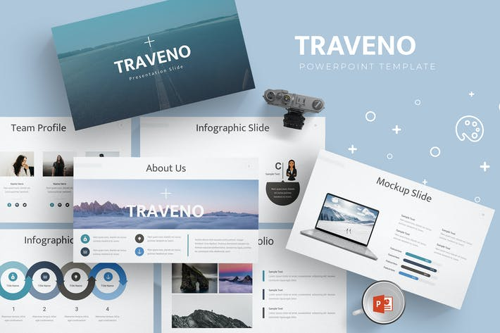 Traveno - Powerpoint Template by aqrstudio on Envato Elements