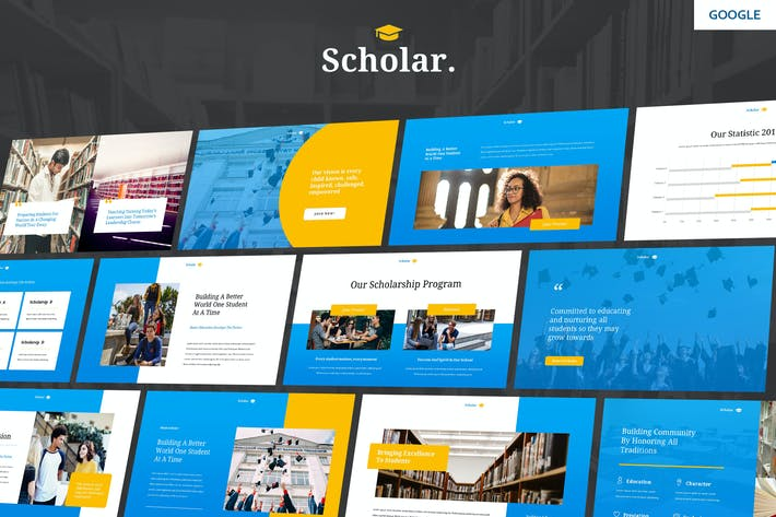 Scholar - Education Theme Google Slides