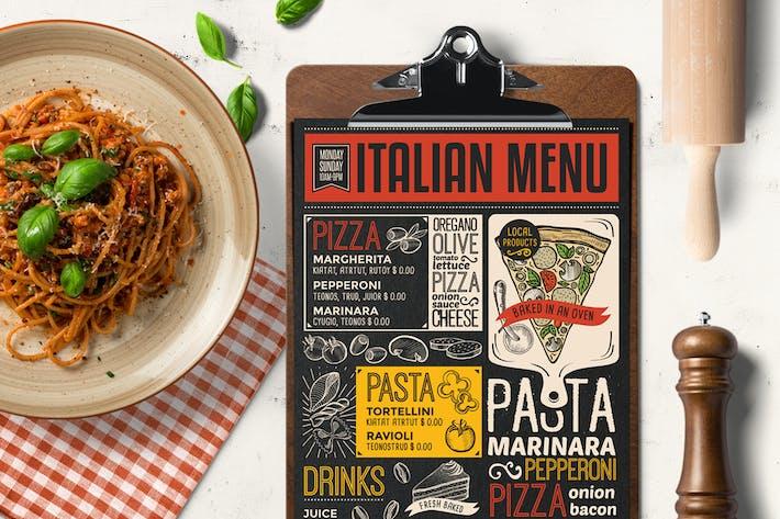 Thumbnail for Pizza Food Menu