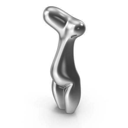 Yin Skulptur Stahl
