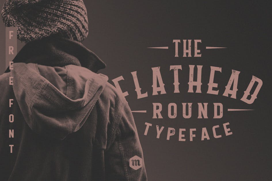 Download Flathead Round Typeface by Mihis_Design