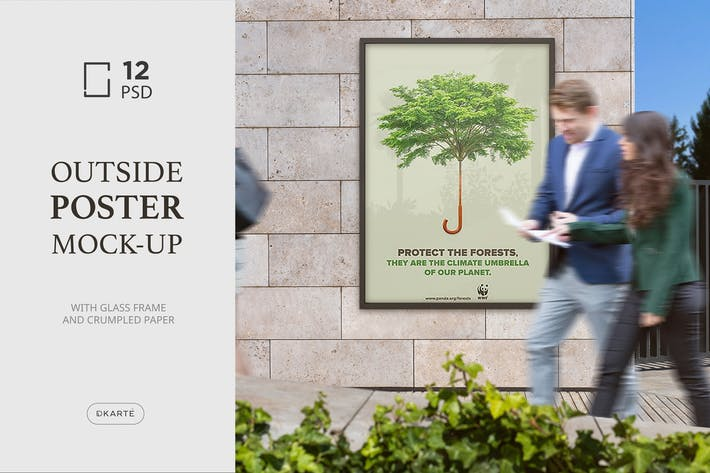 Thumbnail for Outside Poster Mock-Up's