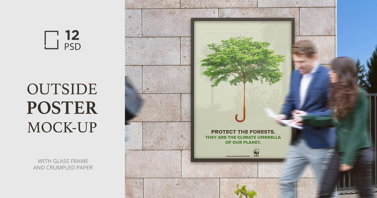 Download Outside Poster Mock-Up's by Temaphoto