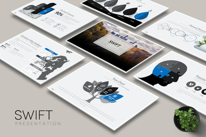 Cover Image For Swift -  Keynote Template