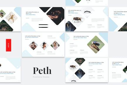 Peth - Schädlingsbekämpfung Powerpoint-Vorlage
