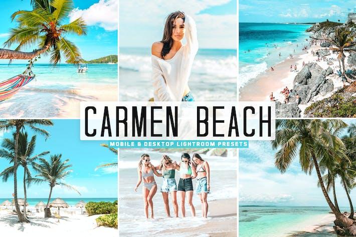 Thumbnail for Carmen Beach Mobile & Desktop Lightroom Presets