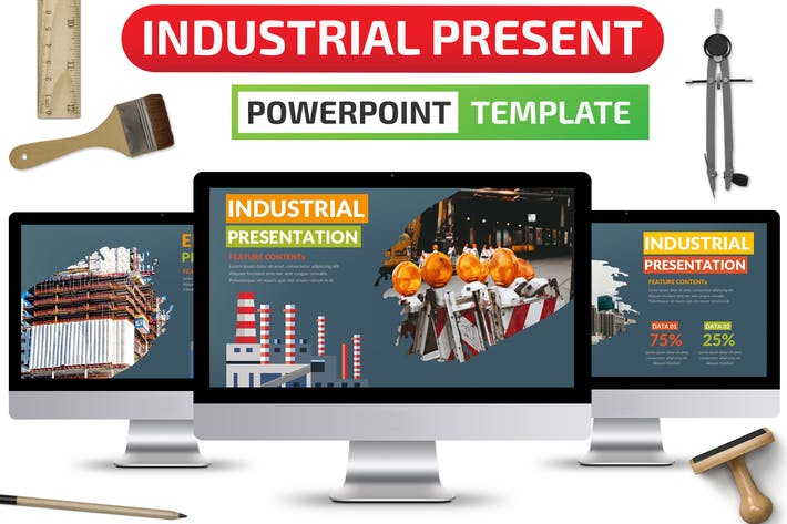 Thumbnail for Industrial Powerpoint Presentation