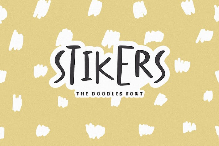 Stikers - The Doodles Font