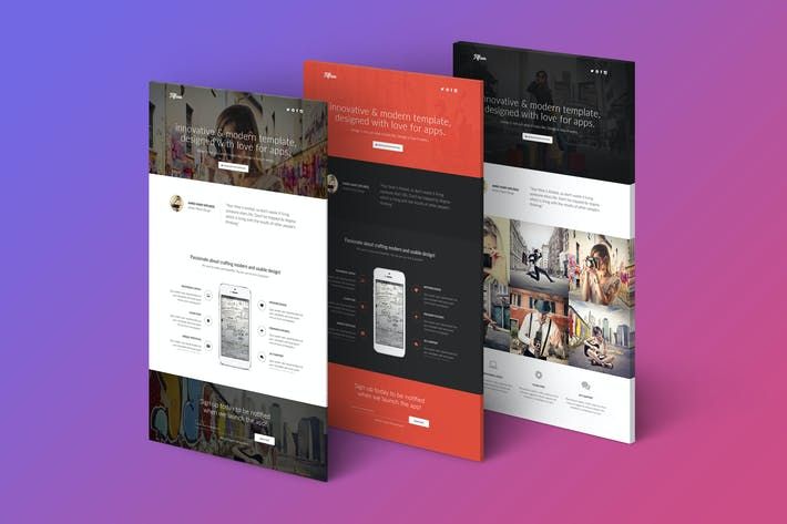 Thumbnail for Fifteen - Responsive Landing Page Template