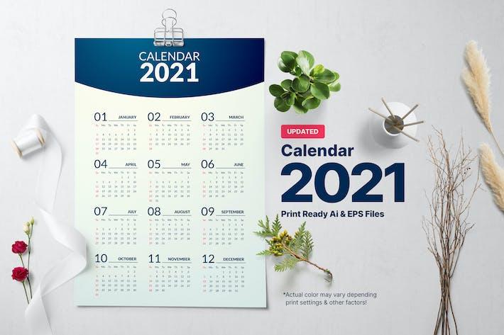 Thumbnail for Calendrier Minimum 2021