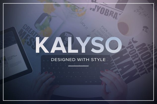 Kalyso - Multipurpose Muse Template for Creatives - product preview 3