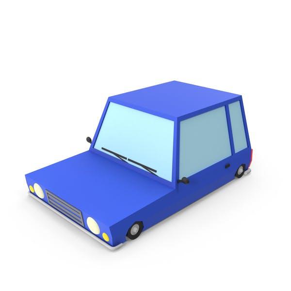 Cover Image for Blue Cartoon Car