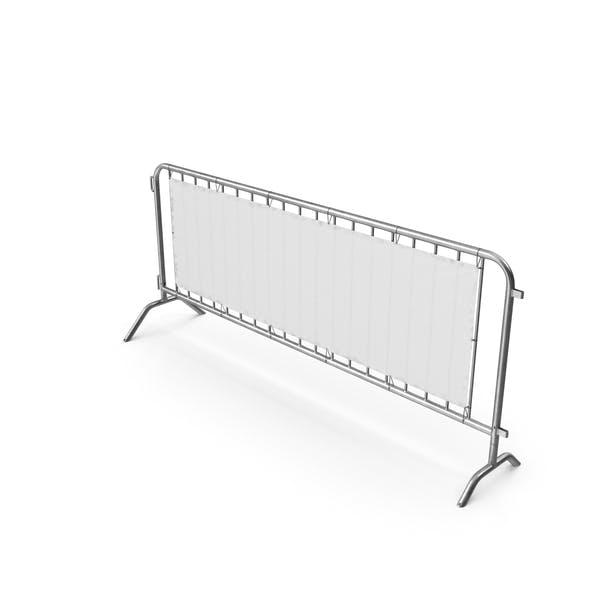 Barriere-Metall perforiert