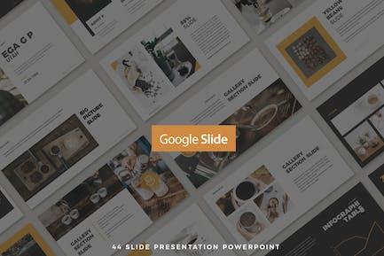 44 Saubere Präsentation Google Slide