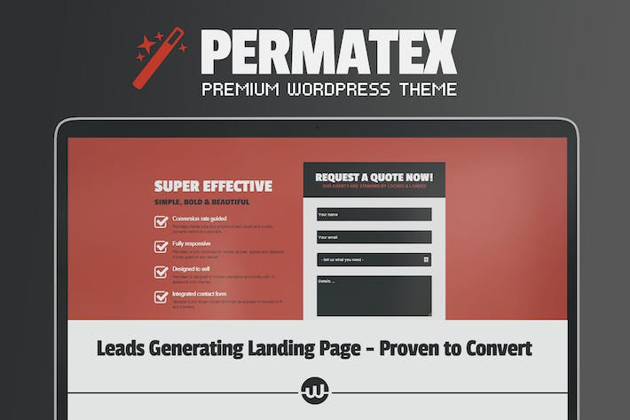 Thumbnail for Permatex - Leads Generating Landing Page
