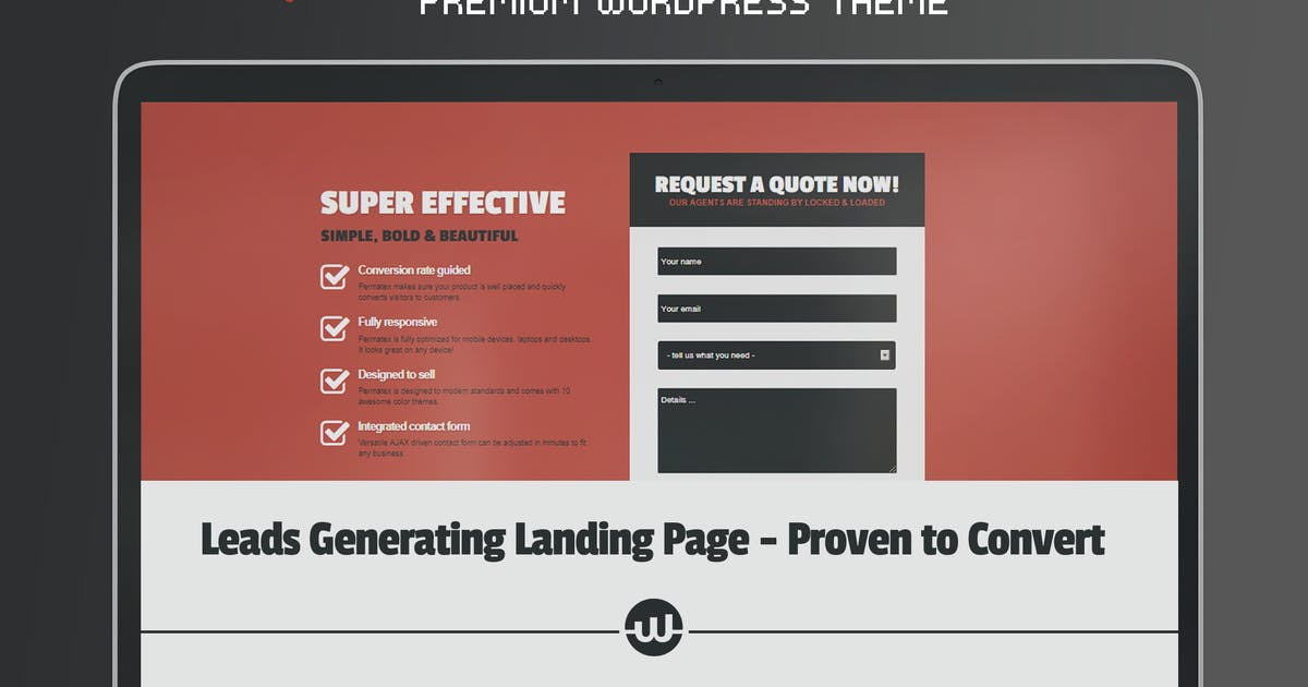 Download Permatex - Leads Generating Landing Page by WebFactory