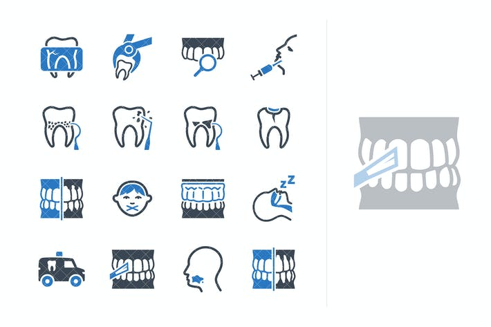 Thumbnail for General & Preventive Dentistry Icons - Blue Series