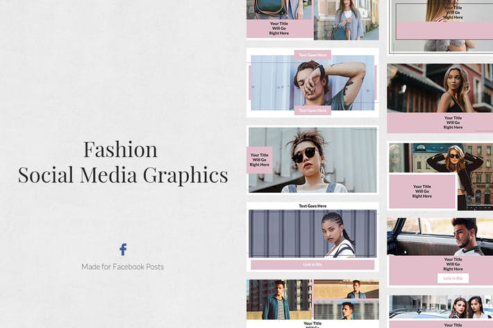 Thumbnail for Fashion Facebook Posts