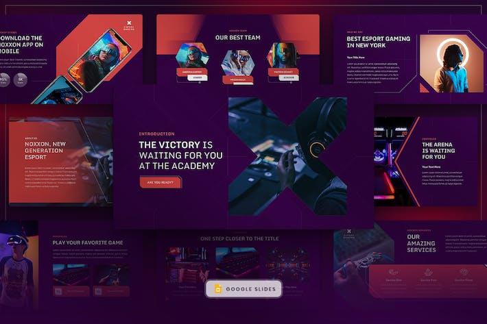 Thumbnail for Noxxon - Esport & Gaming Google Slides
