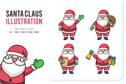 Weihnachtsmann-Abbildung