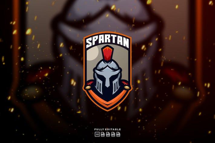 Thumbnail for Spartan Knight E-sport Logo