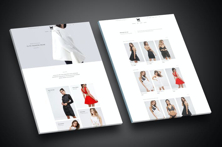 Thumbnail for Luxi - Luxury Elegant WooCommerce WordPress Theme