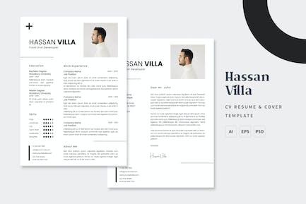 Hassan Villa - Resume