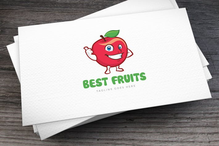 Thumbnail for Best Fruits Logo Template