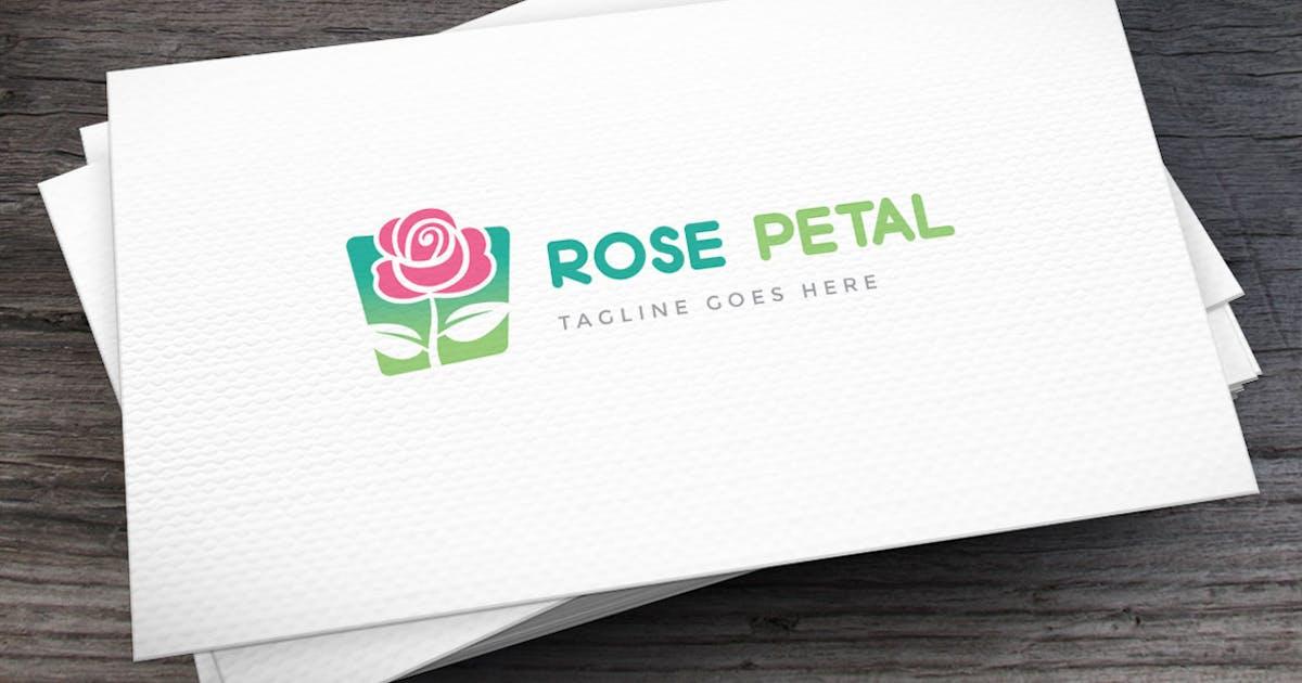 Rose Petal Logo Template by empativo