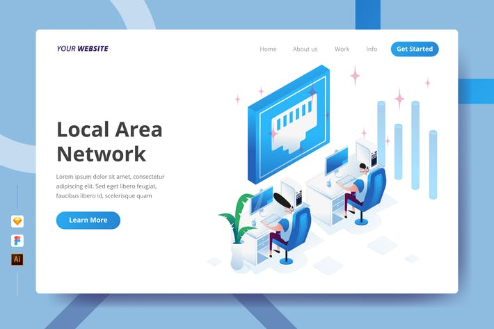 Thumbnail for Local Area Network - Landing Page
