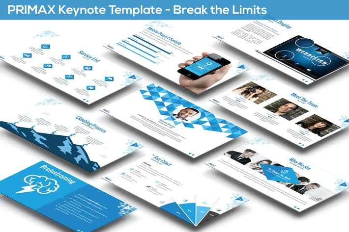 Thumbnail for Primax Keynote Template