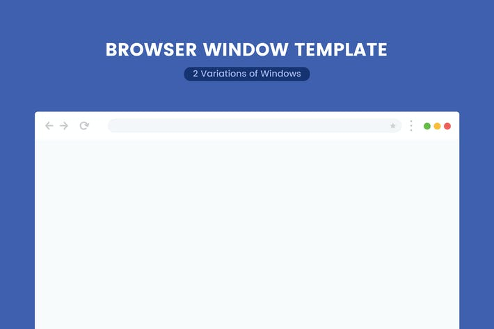 Thumbnail for Browser Window Template