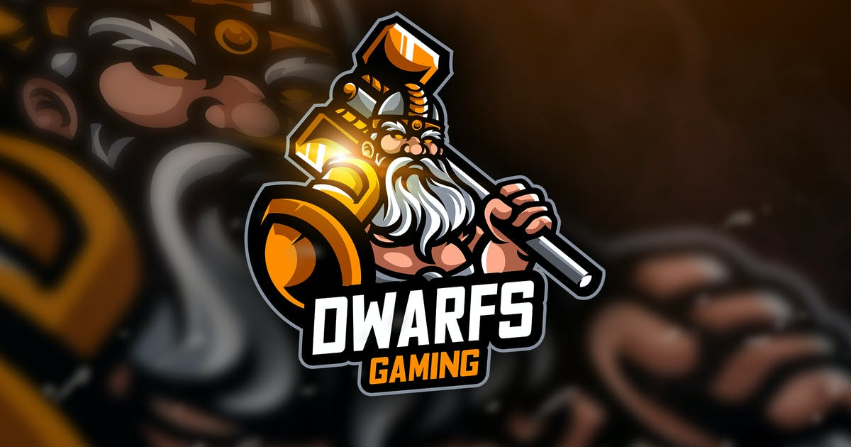 Download Dwarf Gaming- Mascot & Esport Logo by aqrstudio