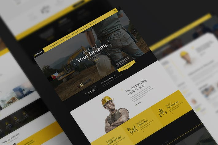 Thumbnail for Recover PSD Template