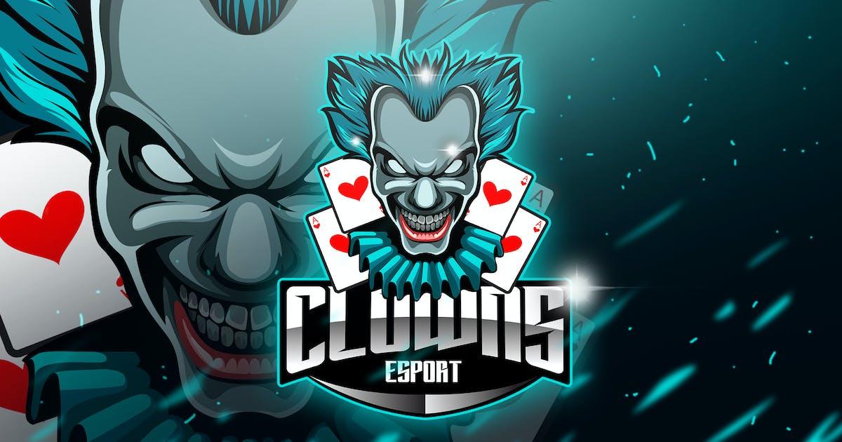 Clowns - Mascot & Esport Logo by aqrstudio