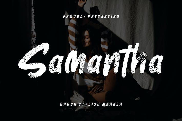 Thumbnail for Samantha Brush - Marcador con estilo