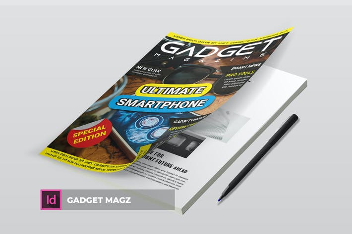 Thumbnail for Gadget | Magazine Template