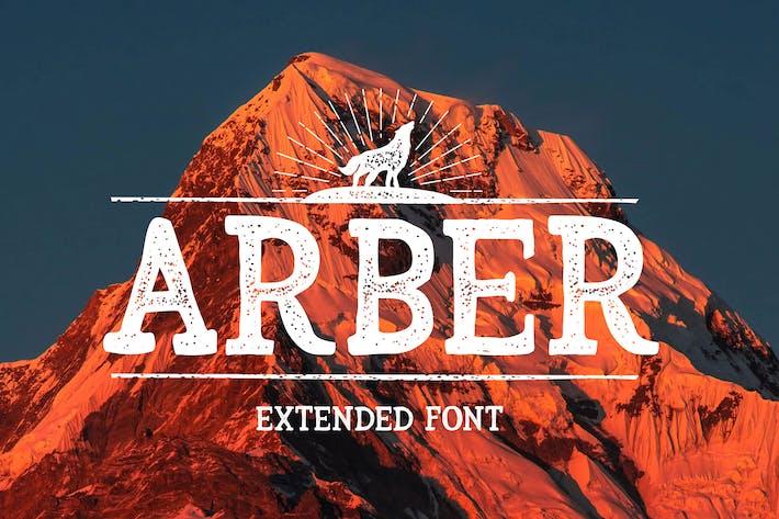 Thumbnail for Arber Extended Vintage Font