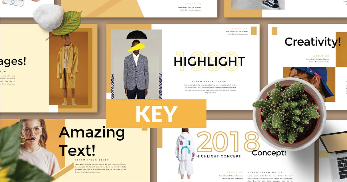 Download HIGHLIGHT Keynote Template LS by templatehere
