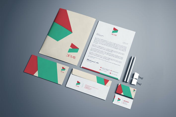 Thumbnail for Deras Corporate Identity Template