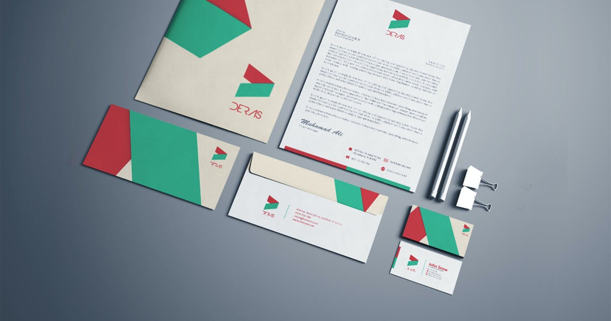 Deras Corporate Identity Template by Unknow
